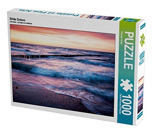 Preisvergleich Produktbild Wilde Ostsee 1000 Teile Puzzle quer (CALVENDO Orte)