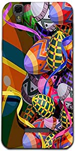 Snoogg Designer Eggs 2474 Designer Protective Back Case Cover For Micromax Yu...