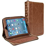 Gmyle Book Case Portfolio for iPad Air - Brown Portfolio