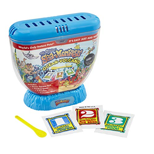Sea Monkeys 80483 Volcan Zoo - Styles peut varier - Version Anglaise