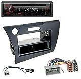 caraudio24 Kenwood KDC-BT430U AUX USB Bluetooth MP3 CD Autoradio für Honda CR-Z (ZF1, ab 2010)