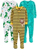 Simple Joys by Carter's Boy's 3-Pack Snug Fit Footed Cotton Pajamas