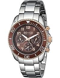 SO&CO Reloj 5029.4 Plateado