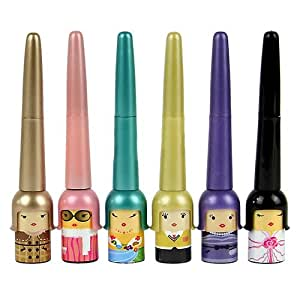 Sanwood Cute Black Liquid Eyeliner Pen Makeup Cosmetic