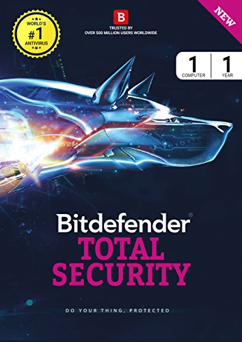 Bitdefender Total Security Latest Version - 1 Device , 1...