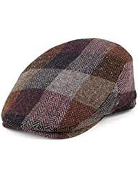 1baefb23f3d4d City Sports Hats Donegal Tweed Woven Patch Flat Cap - Multi-Coloured