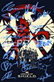 Signed PP (Pre-Printed autographs). Gregg, Bennet, Henstridge, Dalton, Wang, De Caestecker, RDJ, Stan Lee, Joss Whedon, Mark Ruffalo, Tom Hiddleston, Scarlett Johansson, Samuel L Jackson, Chris Hemsworth, Chris Evans, Jeremy Renner;The Perfect Gift! ...