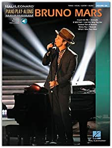 Piano Play-Along Volume 126: Bruno Mars. Partitions, CD pour Piano, Clavier, Paroles Seulement, Guitare avec rythmique