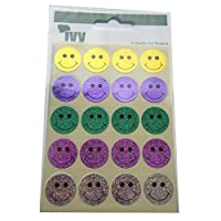 Ivy Holographics Smiley Faces 48 Per Pack