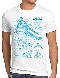 style3 Viper T-Shirt Homme galactica battlestar