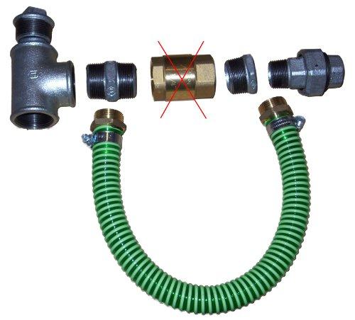 Anschluß Set E-Pumpe - Brunnenbau Hauswasserwerk Gartenpumpe Jet Pumpe Wasser