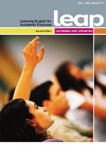 Learning English for Academic purposes Listening/Speaking with CW+ access