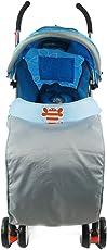 Voberry Weatherproof Stroller Socks Pram Winter Essential Trolleys Jumbo Foot Cover Stroller Blue