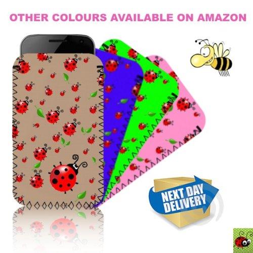 Biz-E-Bee Phonecase Exclusif 'Coccinelle' vert Nouveau Apple iPhone 5résistant aux chocs en néoprène pour Téléphone portable, Housse, Pochette