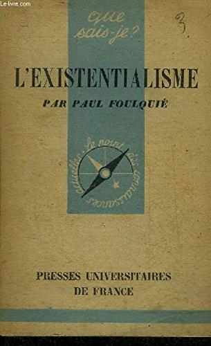 Existentialisme (l')