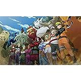 taoyuemaoyi Sticker Mural Naruto Affiche Papier Peint Naruto Sasuke Comique Autocollant Dortoir Chambre Surdimensionné Mur Autocollant Décoration Murale 40 * 60CM 49