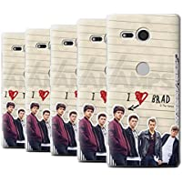 Offiziell The Vamps Hülle / Case für Sony Xperia XZ2 Compact / Pack 5pcs Muster / The Vamps Geheimes Tagebuch Kollektion
