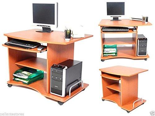 Scrivania porta pc mod. Ufficio scrivania modello smart ciliegio 90x55x76