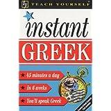 Instant Greek (Teach Yourself)