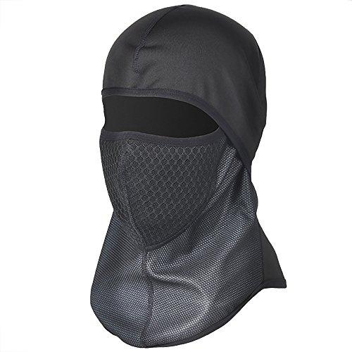 Balaclava Gesichtsmaske Profi Ski Winddicht Warm-Aufenthalt Balaclava Full Cover Maske (Mit Filter) (Layer Balaclava)