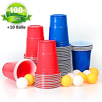 Solo Red & Blue Cup Party Pack - Rote & Blaue Becher für