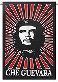 Che Guevara Indian Décor Werfen Cotton Tapestry Poster Größe Schwarz Wandbehang 42x30 Zoll