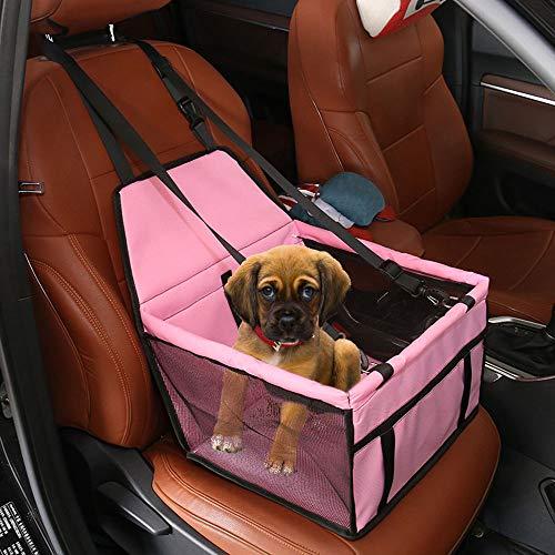 Supet Hunde Autositz f/ür Kleine Mittlere Hunde R/ückbank /& Vordersitz Hundesitz mit Gratis Sicherheitsgurt Wasserdicht Autositzbezug mit Verst/ärkte W/ände Extrem Langlebig /& Einfach zu Installieren