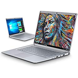 Intel Celeron J3455 - Ordenador Portatil Ultrabook 14.1''IPS/HD(Notebook Intel Core i7, 6GB RAM, 128GB SSD, Windows 10, Intel HD Graphics 500(Plata)
