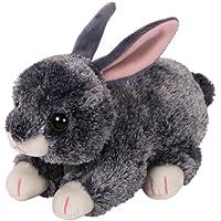 TY 42266Smokey, conejo gris 15cm, Beanie Babies, Pascua Edición Limitada