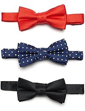 Conjunto de 3 pajaritas atadas Lovjoy con correa ajustable para bebés / niños de 1-5 años de edad