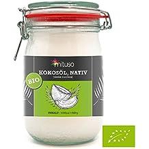 Huile de noix de coco biologique extra vierge, Mituso, 1000 ml