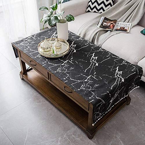 Anti-hot Baumwolle leinen Kaffee tischdecke Tuch, rechteckige tischdecke tv Schrank Tee tischdecke Handtuch mit Aufbewahrungstasche -