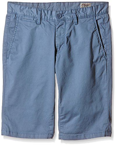 Teddy Smith Short Chino Str, Shorts Uomo, Bleu (Bleu Horizon), 27 W