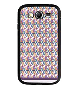 PrintDhaba Floral Pattern D-1198 Back Case Cover for SAMSUNG GALAXY GRAND NEO PLUS (Multi-Coloured)