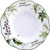 Brunchfield Remember - Plato hondo, de porcelana, 21,5 cm