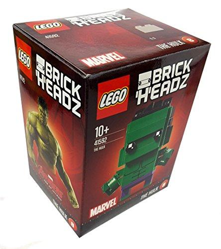 1 x LEGO BrickHeadz 41592 Marvel The Hulk (8) ca. 7 cm groß + Grundplatte Figur neu 2017 Sammler