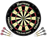 "Cible traditionnelle sisal HARROWS "" Let's play Darts"""