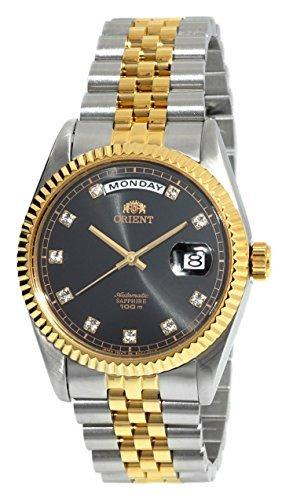 Orient orologio automatico zaffiro 2tonalità oro classico