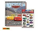 Disney Cars 3: Meine Freunde: Freundebuch (gebundene Ausgabe) + 1. original Cars Stickerbogen