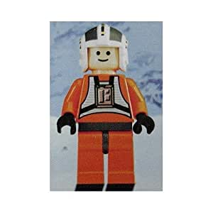 Lego - Mini-Figurine Star Wars - Wedge Antilles X-Wing Pilot - 4,5cm
