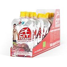 fitrabbit BIO NO Booster - [20 Beutel] - konzentrierter Rote Bete Saft mit Zitronensaftkonzentrat und Guarana - Sportdrink