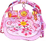 just4baby Pink Flower Baby Playmat Play Gym Musical Activity Sunflower Play Mat