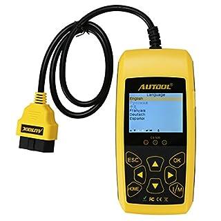 Autool CS520 Fehlercode-Leser für Automotoren, automatisch, erkennt Fehler der Motorkontrollleuchte, Diagnosewerkzeug für DTC/Tips-Codes (evtl. Nicht in Deutscher Sprache)