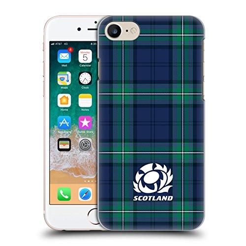 Head Case Designs Ufficiale Scotland Rugby Scozzese 2018/19 Logo Cover Retro Rigida per iPhone 7 / iPhone 8