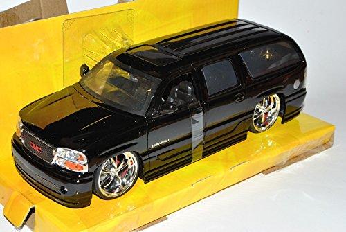 gmc-yukon-denali-schwarz-2000-2006-1-24-jada-modell-auto