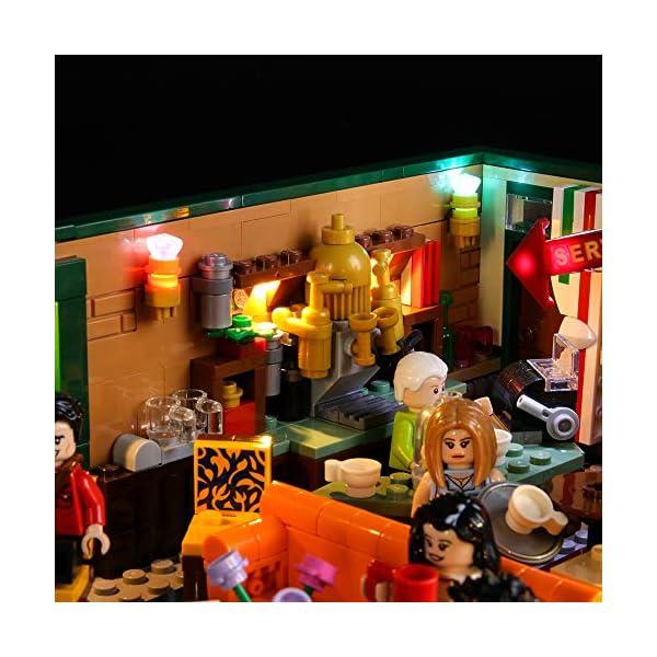 BRIKSMAX Kit di Illuminazione a LED per Lego Idee Central Perk,Compatibile con Il Modello Lego 21319 Mattoncini da… 4 spesavip