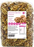 PINK SUN Walnut Halves and Pieces 1kg, 2kg, 3kg or 5kg Raw Natural Nuts Unsalted Whole Foods With Skins On 1000g Bulk Kernals Unpasteurised Unroasted