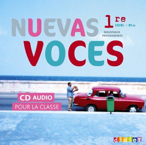 Nuevas Voces 1re - 2 CD audio classe