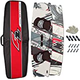 F2 Crossover Kiteboard HOPPE Air 142 x 42 cm Komplett + Twin Tip BOARDBAG