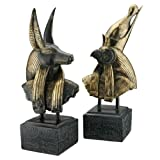 Design Toscano Götter des alten Ägypten, Skulpturen, 14 x 7,5 x 45,5 cm